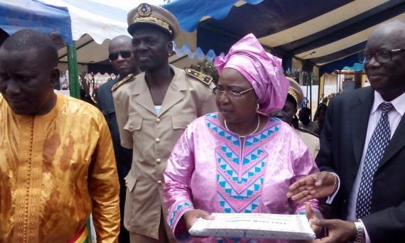 SOMONE : La maternité du poste de santé inaugurée par Awa Marie Coll Seck