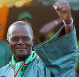 Ousmane Tanor Dieng maire,  maire de Nguéniène