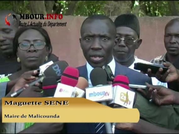 [VIDEO] MALICOUNDA : Le Maire pose la première pierre du centre d'état civil secondaire de Nianing pour soulager les populations.
