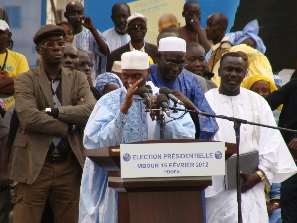 Le meeting du PDS à Mbour en images