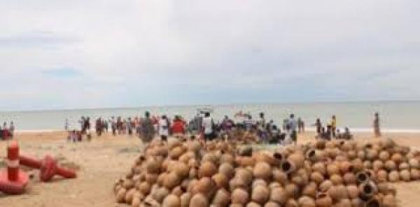 PECHE MARITIME : 6000 pots à poulpes immergés à Guéreo pour réhabiliter l'habitat marin.