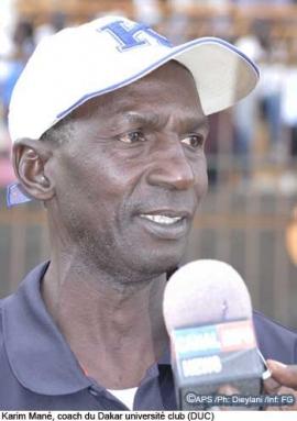 kARIM MANE, coach de MMBOUR PETITE COTE