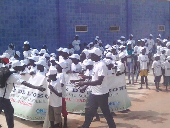 JOURNEE MONDIALE DE L'OZONE : Le Programme National Ozone Sénégal mise sur la sensibilisation des enfants.