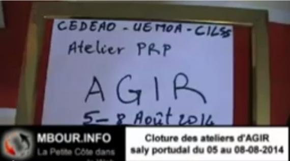 [VIDEO] Clôture des ateliers d'AGIR à Saly Portudal