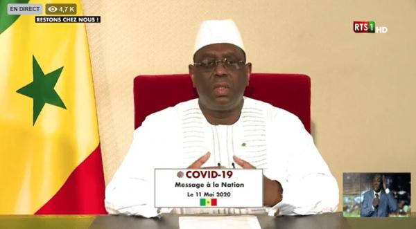 ADRESSE À LA NATION DU PRESIDENT MACKY SALL : l'adaptation, la nouvelle stratégie de résilience du Sénégal.