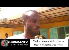 [VIDEO] Entretien avec l'international sénégalais, Modou Sougou