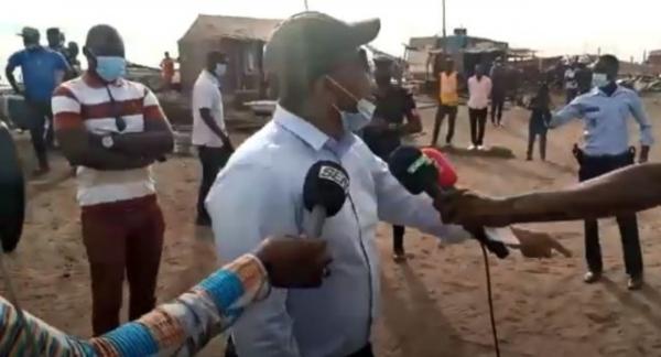 MBOUR : Interdit d'accéder au quai de pêche, Bougane Gueye crache le feu.