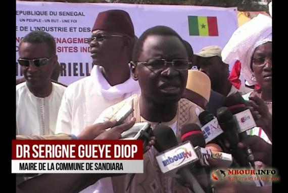 [VIDEO] SANDIARA: Le Maire pose la première pierre de la 4ème usine dans la zone industrielle de Sandiara