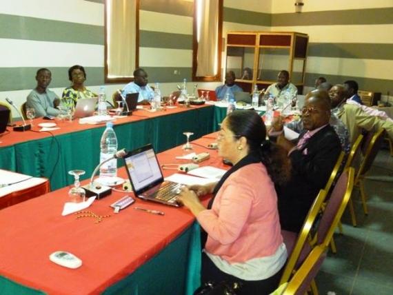 AGIR : les points focaux de cinq pays en formation