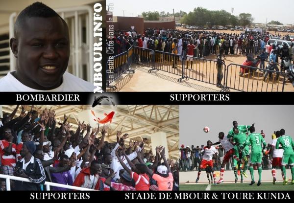 [Supporters] Classico Stade de Mbour vs Toure Kunda en image