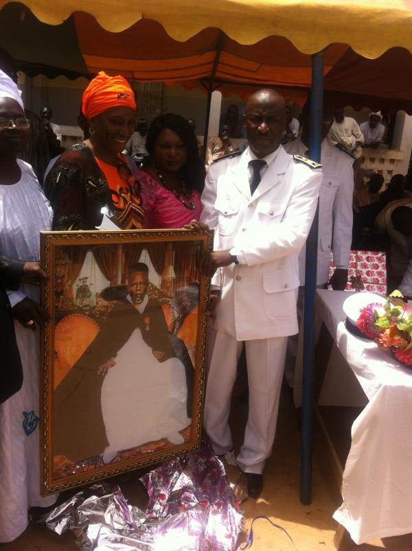 Fissel : le sous-préfet Djiby Diallo part avec les honneurs