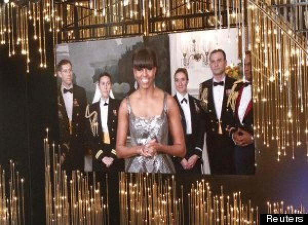 Michelle Obama annonce l'Oscar du meilleur film