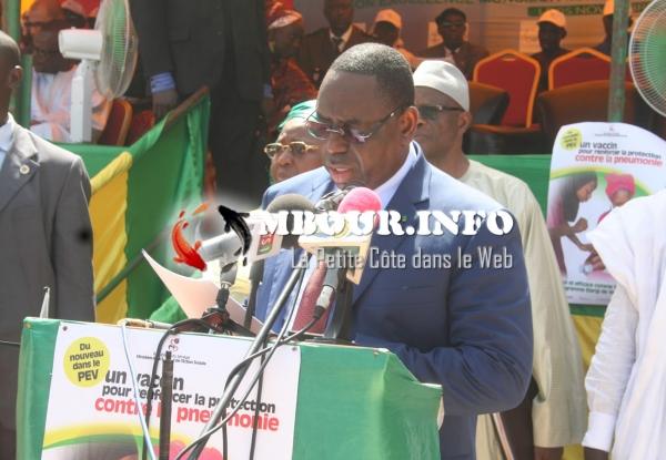 Président Macky Sall à Mbour