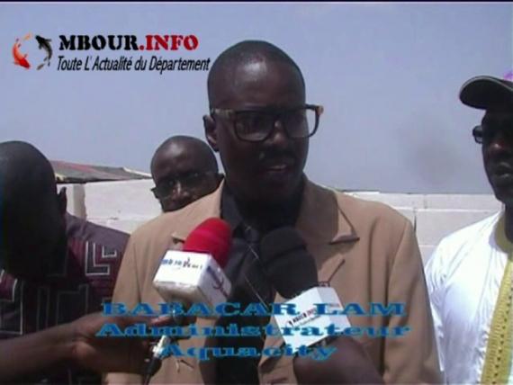 TOURISME - AQUACITY : Babacar Lam veut relancer le tourisme avec des maisons en bloc cellulaire