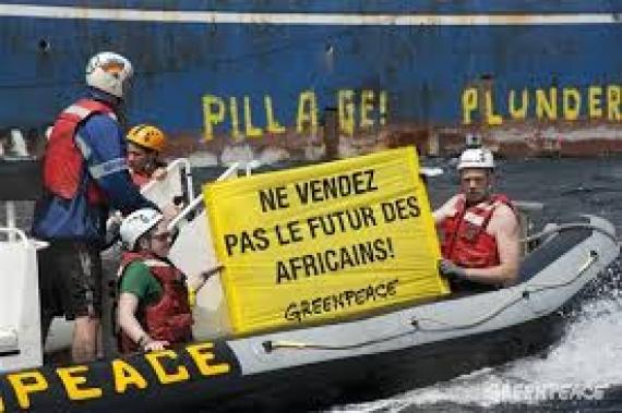 Greenpeace inquiet du nouvel accord de pêche signé entre le Sénégal et l'UE