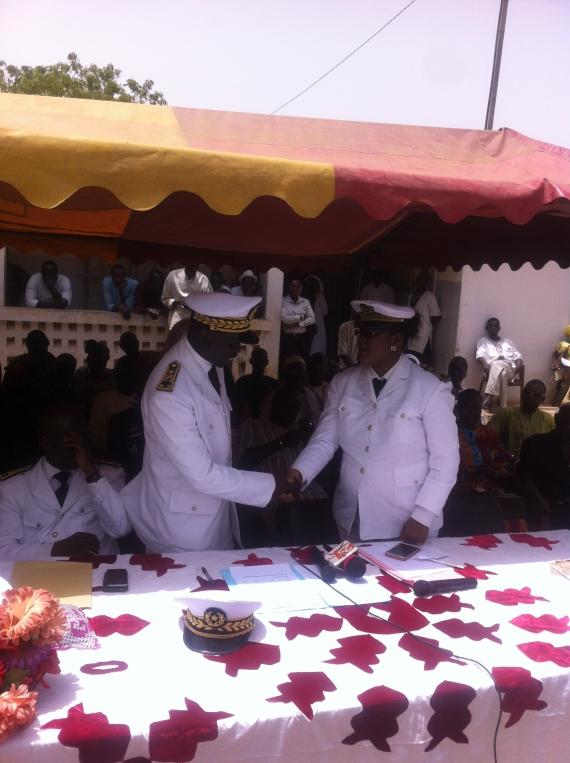 Fissel : le Sous-préfet Khardiatou Sène installé dans ses nouvelles fonctions !