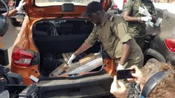 Lutte contre le trafic illicite de drogue Au Sénégal il n'y a jamais eu autant de saisie qu'en 2018.