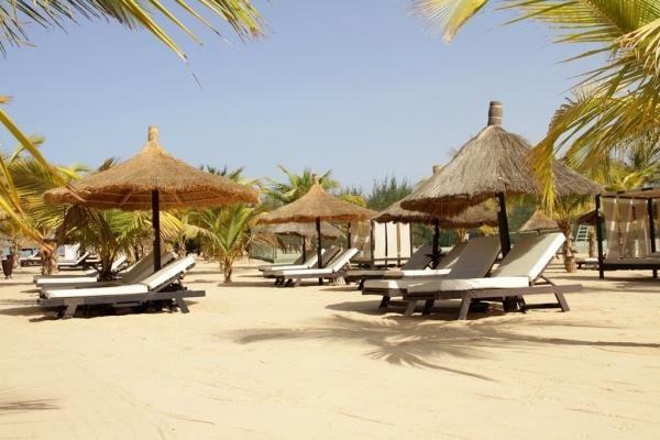 Saly Portugal - Coronavirus  Le Lamentin Beach fermé.