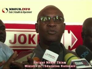 [VIDEO] EDUCATION : L'école sénégalaise de nouveau perturbée, le Ministre espère trouver une solution avec les syndicats.