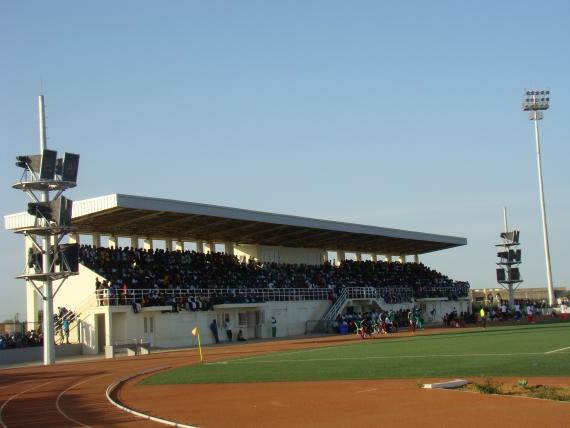 Lancement des travaux d'extension du stade Caroline Faye, vendredi