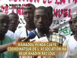 [VIDEO] 10ème édition Marmite du coeur: L'Association Wa keur Khadim Rassoul nourrit les détenus et les malades.