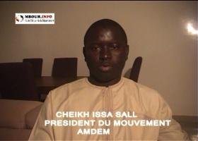 [VIDEO] Présentations de vœux: Cheikh Issa SALL, Président du Mouvement AMDEM