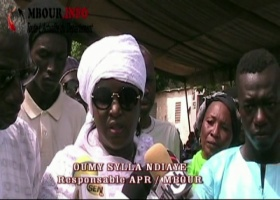 [VIDEO] Oumy Sylla Ndiaye invite à bannir la violence