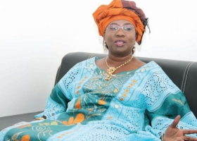 Aïssatou Sophie Gladima Siby    directrice de  l'Agence nationale de la recherche scientifique appliquée (ANRSA).