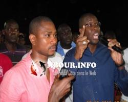Cheikh Diallo offre un lot d'équipements au Stade de Mbour