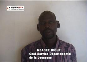[VIDEO] Présentations de vœux: Mbacké Diouf, Chef du Service Départemental de la Jeunesse