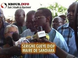 [VIDEO] POLITIQUE - SANDIARA : Le Maire lance la course contre la soif.
