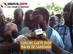 [VIDEO] POLITIQUE - SANDIARA : Le Maire lance la course contre la soif.