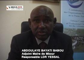 [VIDEO] Présentations de vœux: Bayati Babou, Deuxième Adjoint au Maire et Responsable LDR YESSAL
