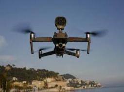 A MBOUR : 3 drones dans les airs pour sécuriser la ville.