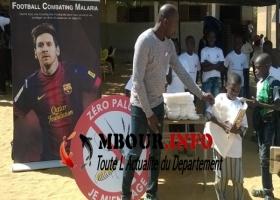 SANTE : 200.000 moustiquaires imprégnées à l'effigie de Lionel Messi distribuées dans les écoles Sénégal.