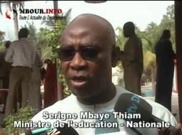 [VIDEO] Education: Serigne Mbaye Thiam note un déséquilibre des effectifs entre la capitale et les regions.