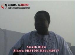 [VIDEO]  ZIARRA ANNUEL DU  MAUSOLEE D'ORSTOM Ahmeth Diaw Disciple du marabout Cissé, estime que le Kankourang de Mbour relève du fétichisme.