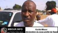 [VIDEO] Korite Mbour : Declaration du sous prefet de Fissel