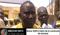 [VIDEO] Bocar Sadji maire somone