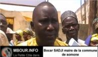 [VIDEO] Bocar Sadji maire somone