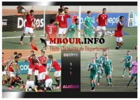 CAN U23 : match nul entre l'Egypte et l'Algérie à Mbour
