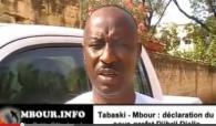 [VIDEO] Tabaski-Mbour: déclaration du sous-prefet Djibril Diallo