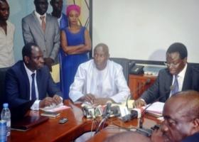 Aménagement de la Zone industrielle de Sandiara : L'Aprosi et la commune signent une conventiond'un montant de 250 millions de FCfa