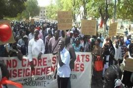 EDUCATION : Le CUSEMS renoue avec les mouvements de grève.