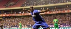 FOOTBALL : Demba Bâ inscrit son deuxième but avec Shanghai Shenhua