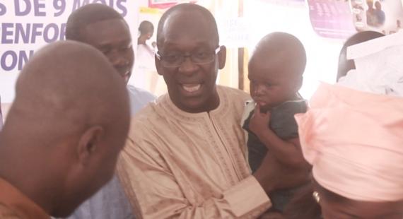SANTE -  LANCEMENT DE LA CAMPAGNE DE LUTTE CONTRE LA ROUGEOLE ET LA RUBEOLE : « Depuis 2004, aucun cas de décès pour rougeole n'est noté », le Ministre.