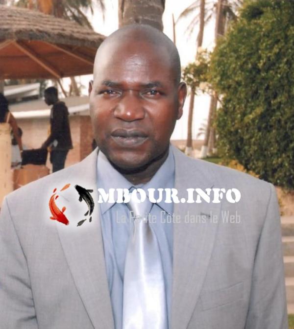 Le Maire de Séssène Docteur Paul SENE , par ailleurs Président du Conseil d'administration de l'Office des Forages