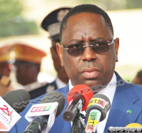 "Macky Sall dénonce un ""lâche attentat terroriste"" à Bamako"