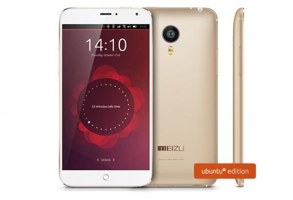 Meizu MX4 Ubuntu Edition : bientôt disponible en Europe