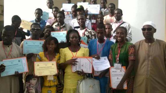 SALY : 30 jeunes formés en entrepreneuriat pour renforcer l'auto-emploi.